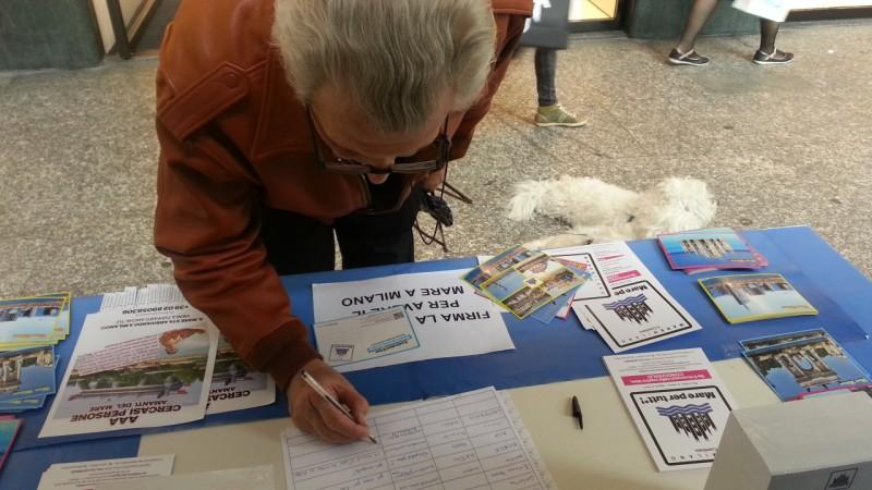 """petizione """"vogliamo il mare a milano!"""