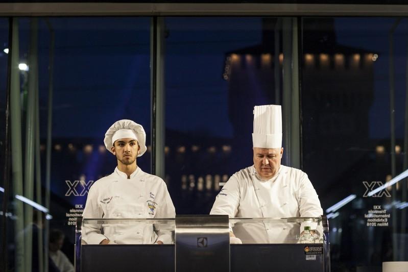 Electrolux Professional con Chef Raffaele Soldati